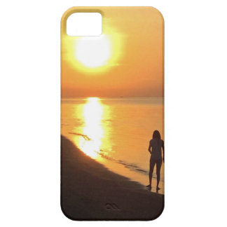 Bali sunrise on the beach iPhone 5 covers
