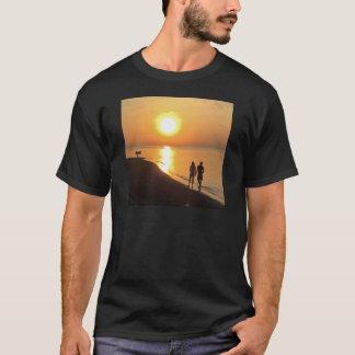 Bali sunrise on the beach T-Shirt