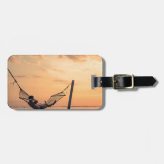 Bali Sunset Luggage Tag