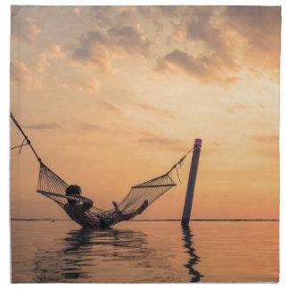 Bali Sunset Napkin