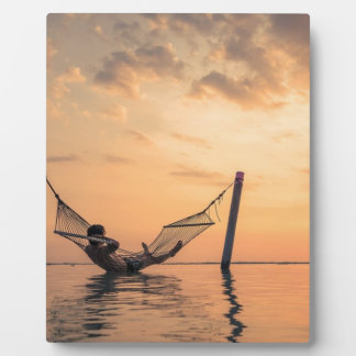 Bali Sunset Plaque