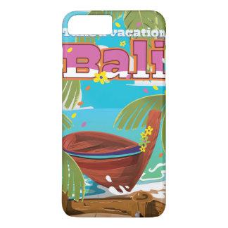 Bali Travel poster. iPhone 7 Plus Case