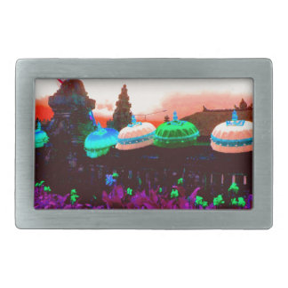 Bali Umbrella Colour Splash Belt Buckle