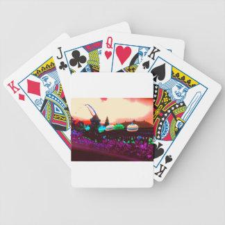 Bali Umbrella Splash Bicycle Playing Cards