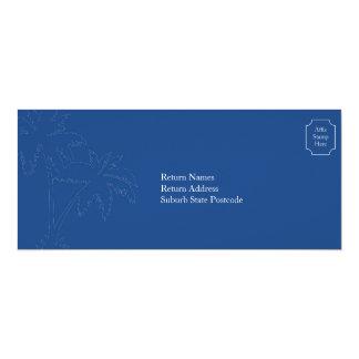 Bali Wedding RSVP Boarding Pass Card