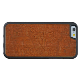 Bali Wood Carving Reproduction Cherry iPhone 6 Bumper