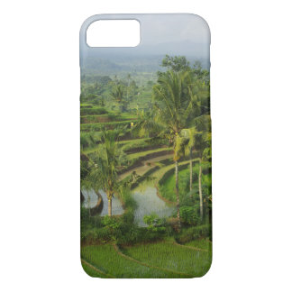 Bali - Young terrace ricefields and palms iPhone 8/7 Case