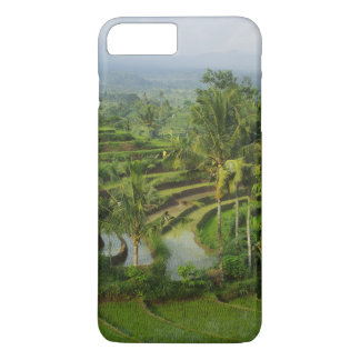 Bali - Young terrace ricefields and palms iPhone 8 Plus/7 Plus Case