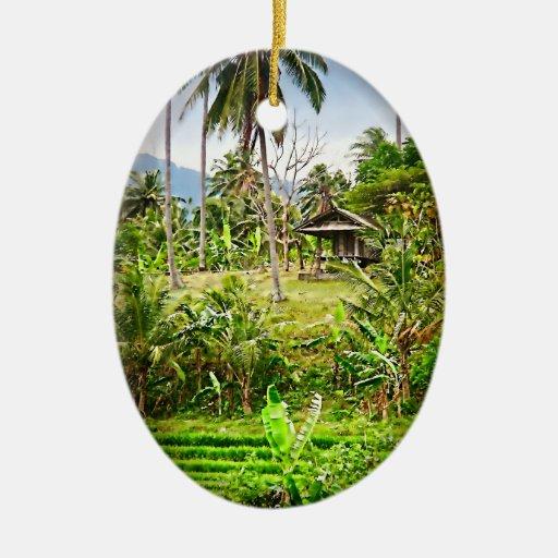 Balinese Farm Ornaments