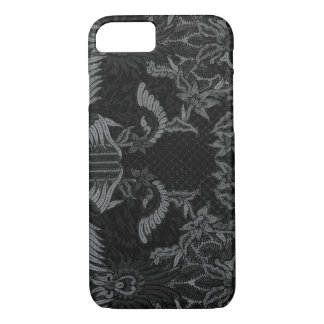 Balinese flowers batik iPhone 7 case