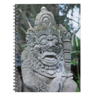 Balinese God statue Notebook