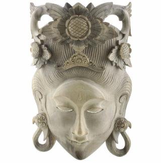 Balinese Mask Ornament Photo Sculpture Decoration