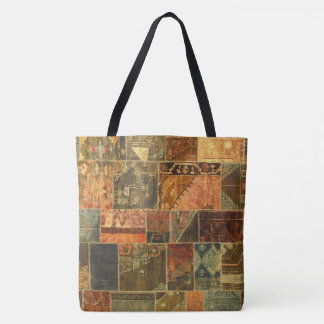 Balinese Patchwork Tote Bag