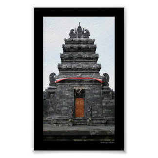 Balinese Temple Poster