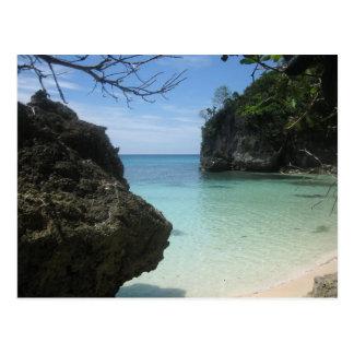 Balinghai beach postcard