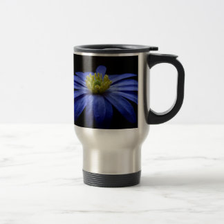 Balkan Anemone Flower Blue Mugs