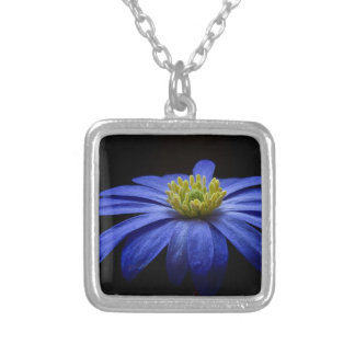 Balkan Anemone Flower Blue Custom Jewelry