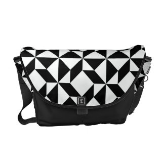Balkan Pattern Courier Bags