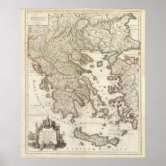 Balkan Peninsula, Greece, Macedonia Poster
