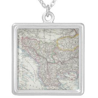 Balkan Peninsula, Turkey, Serbia, Europe Silver Plated Necklace