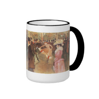 Ball at the Moulin Rouge by Toulouse Lautrec Mugs