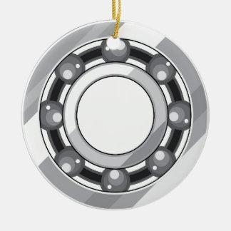 Ball bearing ceramic ornament