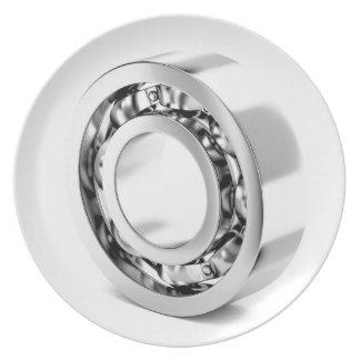 Ball bearing plate