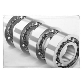 Ball bearings placemat