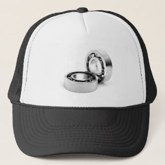 Ball bearings trucker hat