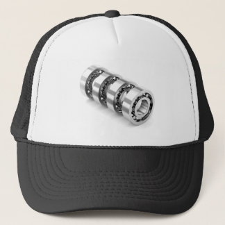 Ball bearings trucker hat