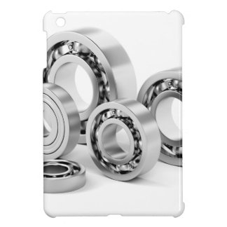Ball bearings with different sizes iPad mini cover