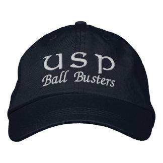 Ball Buster Lid B Embroidered Baseball Caps