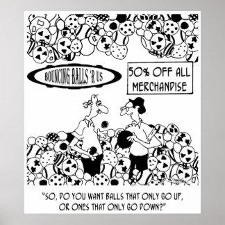 Ball Cartoon 6241 Poster