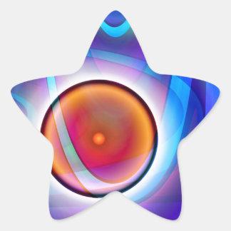 Ball designed by Tutti Star Sticker