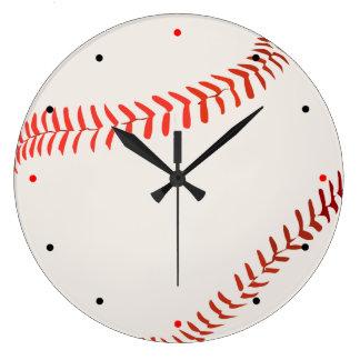Ball for baseball wallclock