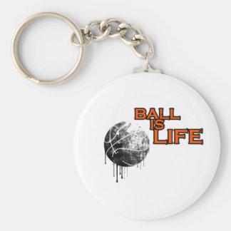 Ball Is Life Key Ring
