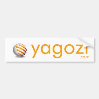 ball_logo2, yagozi, .com bumper stickers