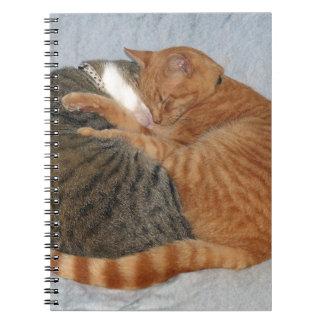 Ball of Cuteness Spiral Notebook