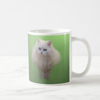 Ball of fluff kitten coffee mug