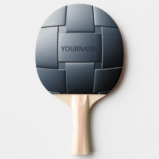 """Ball of Steel"" custom ping pong paddle"