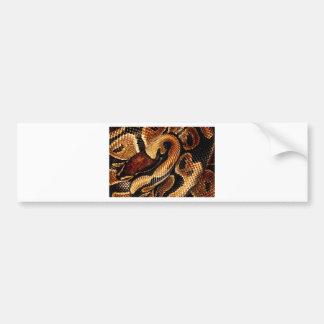 Ball Python Bumper Sticker