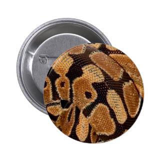Ball Python Button Badge