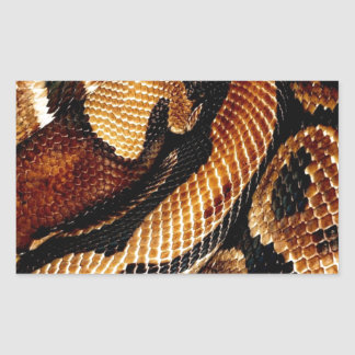Ball Python Rectangular Sticker