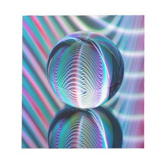 Ball Reflect 5 Notepad