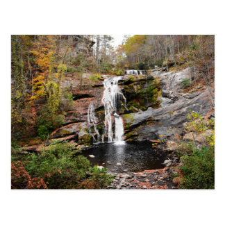 Ball River Falls in Tennessee fall color Postcard