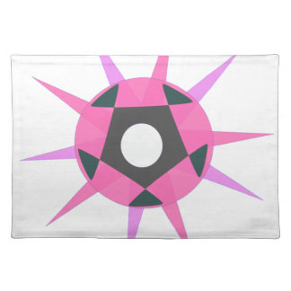 Ball with spikes placemat