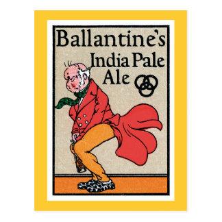 Ballantine s India Pale Ale Vintage Label Post Cards