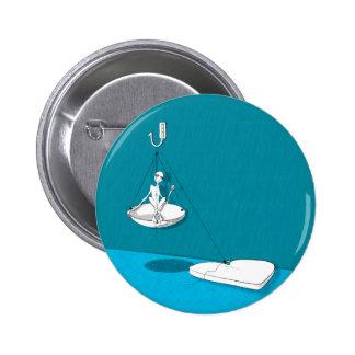 ballast 6 cm round badge