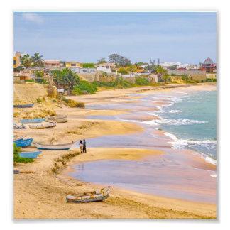 Ballenita Beach Santa Elena Ecuador Photographic Print