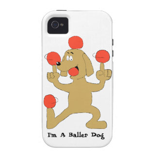 Baller Dog Case-Mate iPhone 4 Cover